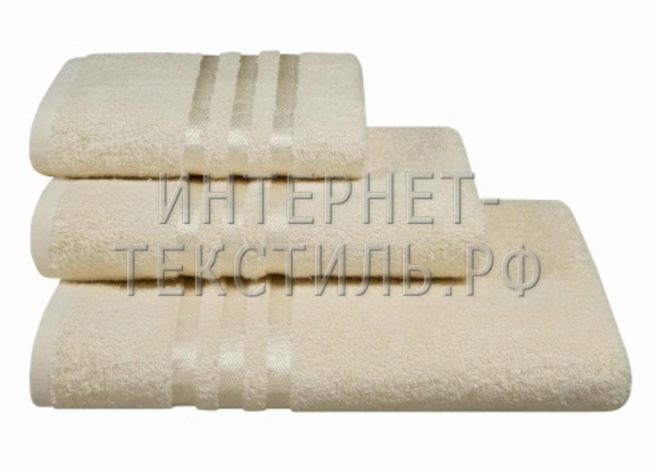 Полотенца махровые г/кр кремовые 450 г/м2