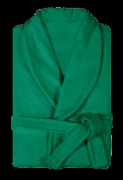 Халат мужской махровый зеленый
