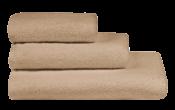 Полотенца махровые г/кр цвет капучино 380 г/м2