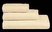 Полотенца махровые г/кр цвет шампань 380 г/м2