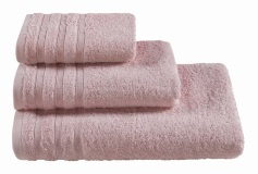 Полотенца махровые г/кр бледно-розовый  440 г/м2