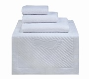 Полотенца махровые г/кр белые 500 г/м2