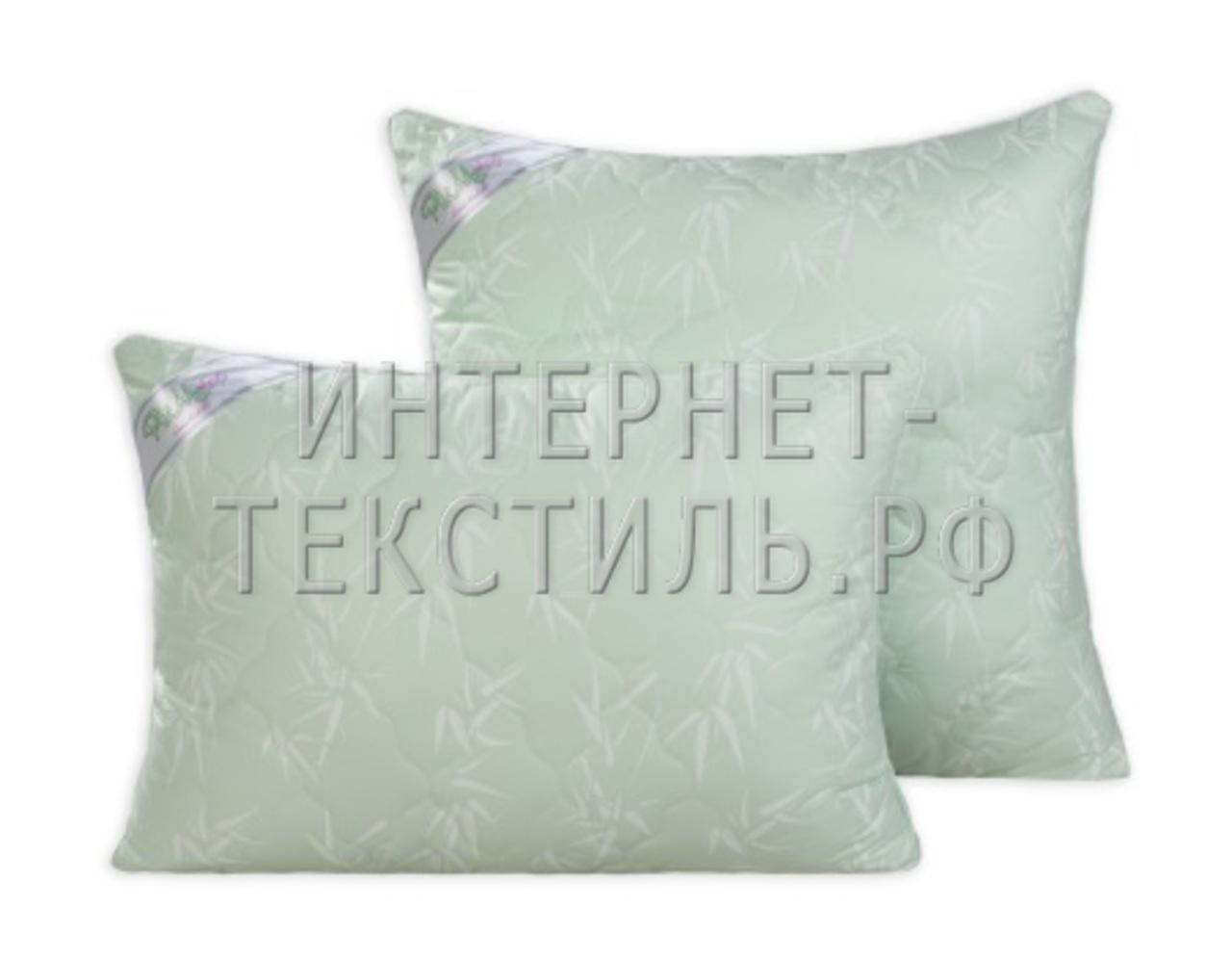 """Подушка стеганая - """"бамбуковое волокно"""""""