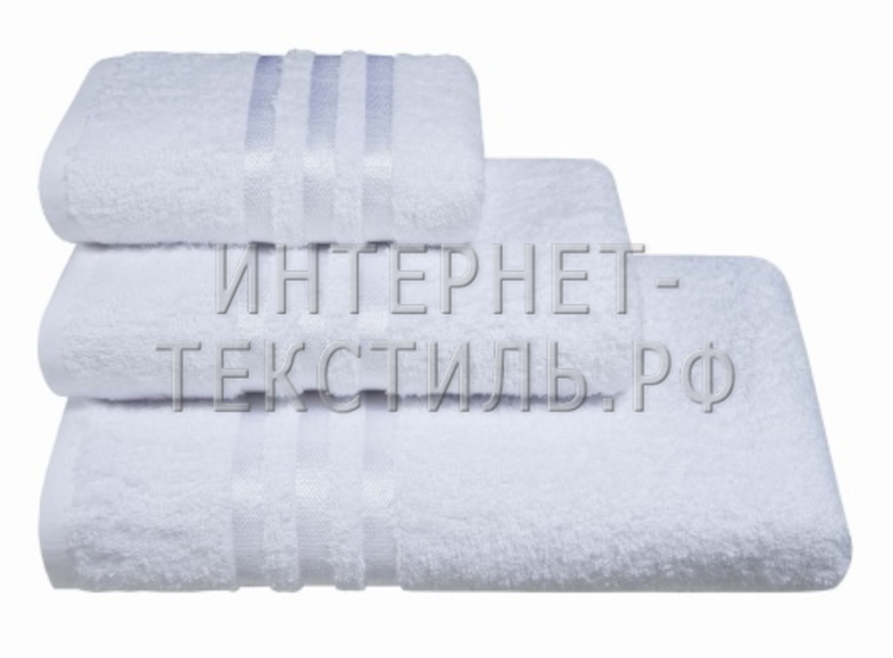 Полотенца махровые г/кр белые 450 г/м2