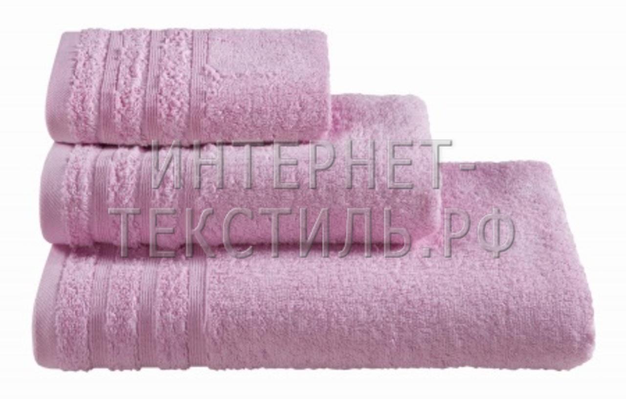 Полотенца махровые г/кр сиреневые 440 г/м2