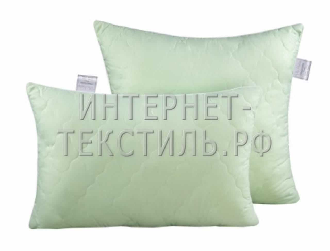 """Подушка стеганая -  эконом """"бамбук"""""""