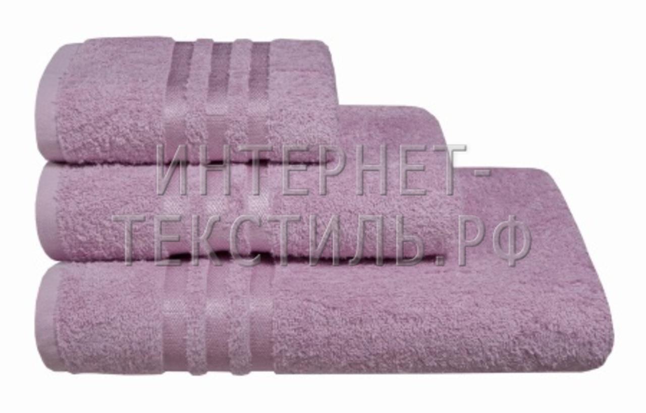 Полотенца махровые г/кр сиреневые 450 г/м2