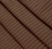 Ткань страйп-сатин шоколад