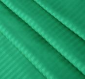 Ткань страйп-сатин изумруд