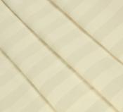 Ткань страйп-сатин шампань