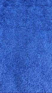 Ткань махровая синяя (380 г/м2)