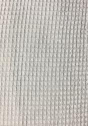 Ткань вафельная белая