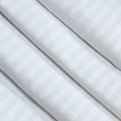 Ткань страйп-сатин белый
