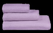 Полотенца махровые г/кр цвет лаванда 380 г/м2