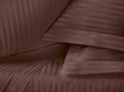 КПБ страйп-сатин шоколад 125 г/м2
