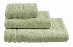 Полотенца махровые г/кр зеленые 440 г/м2