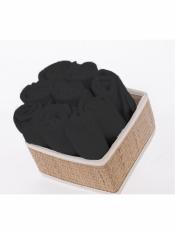 Салфетка махровая черная 30*30 см (10 шт)