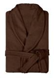 Халат мужской махровый коричневый (большие размеры)