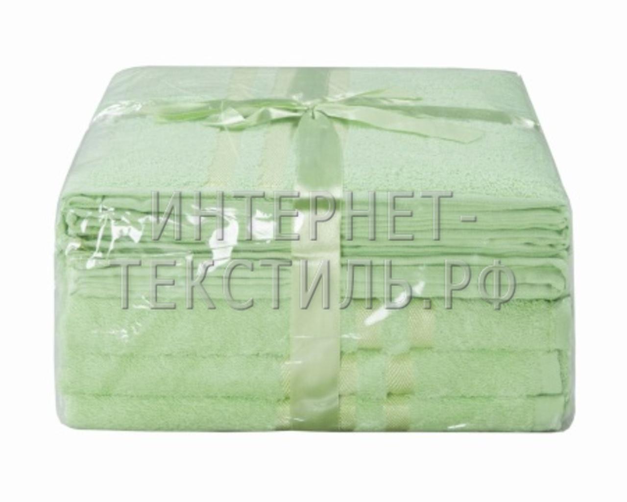 Полотенца махровые г/кр лайм 450 г/м2