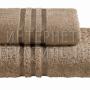 Полотенца махровые г/кр шоколад жаккард 440 г/м2
