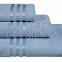Полотенца махровые г/кр голубые 450 г/м2